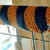 "Handrail Cozy by ""Knitter Bug"""