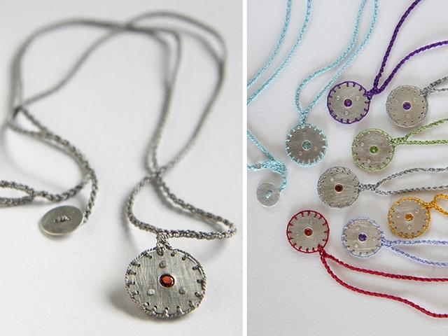 Amoeba Necklace #1