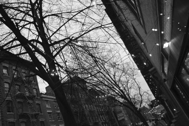 night lights. NYC.