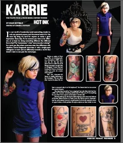 October 2008.  PRICK Magazine.