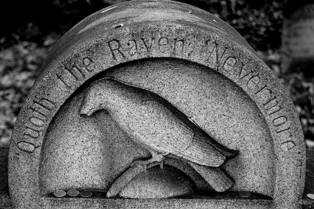 Edgar Allen Poe Gravestone