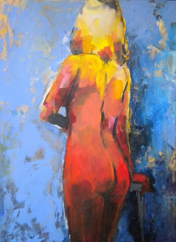 Figure in Gradient