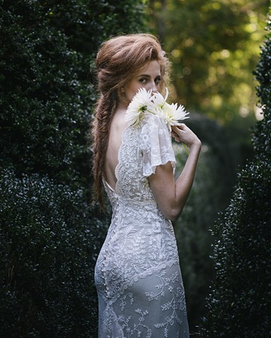 heirloom lace gown