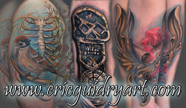 Eric Guidry Art - Tattoos and Art