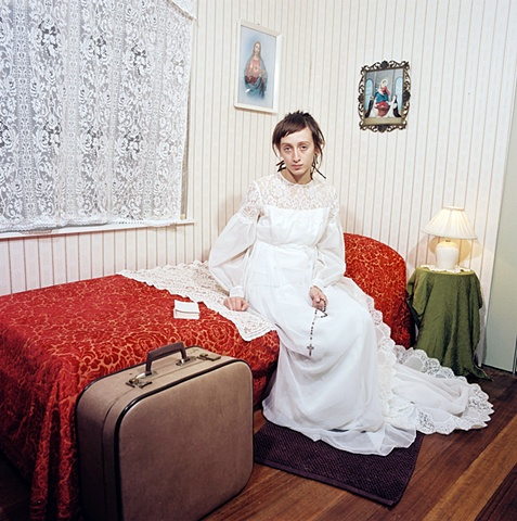 Nicole Robson's Constructed photography of adolescent domestic bedrooms