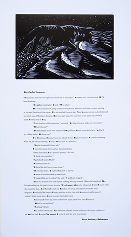 broadside, relief print, typeset, Bret Anthony Johnston, Ramiro Rodriguez