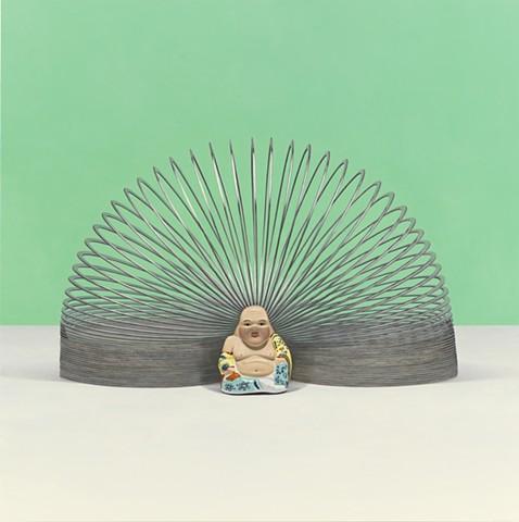 BUDDHA WITH SLINKY AURA