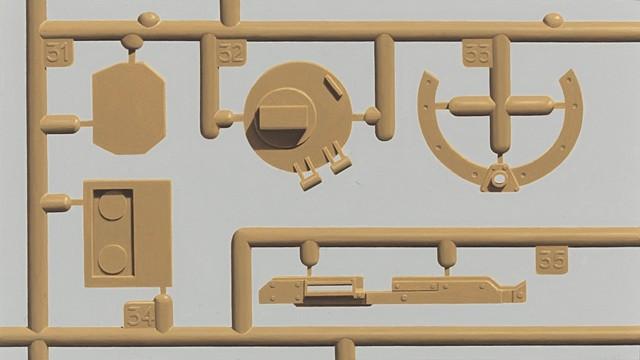 M1A2 ABRAMS MODEL PARTS