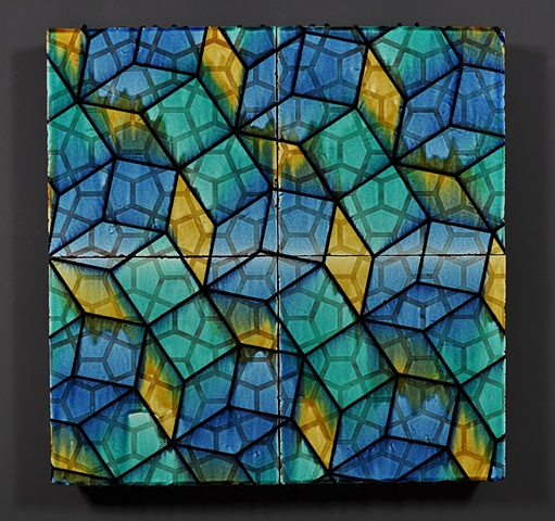 architectural ceramic tile sculpture wall painting clay art installation ceramics tiles glazed pattern modern contemporary interior exterior design