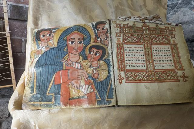 Ancient Coptic Christian Manuscript, Lailibela, Ethiopia