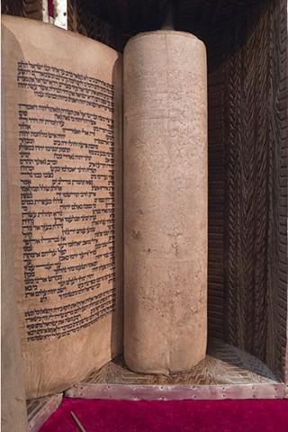 Torah, Musmeah Yeshua Synagogue, Yangon, Myanmar