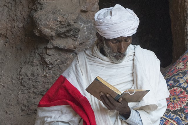 Coptic Christian Priest, Lailibela, Ethiopia