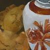 Ginger Jar with Angel