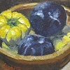Asian Eggplants and Plums