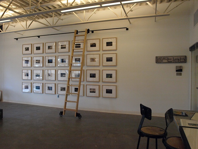 Recollections (Installation Teton Art Lab, Jackson Hole, WY 2010)