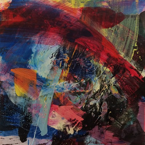 Paul Fenwick Art Abstract Painting Oxford Magdalen Road Studios