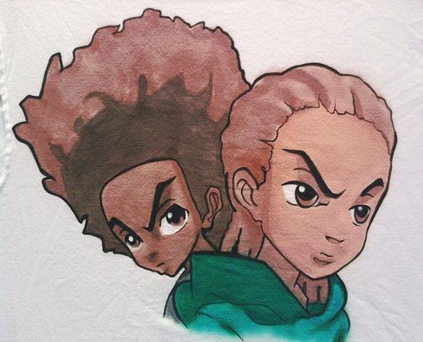 Boondock's Huey and Riley