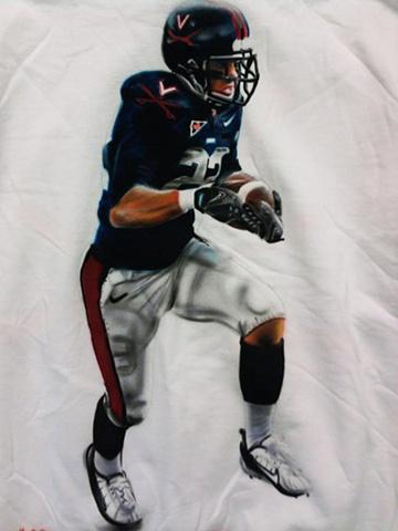 Virginia Tech Football Player