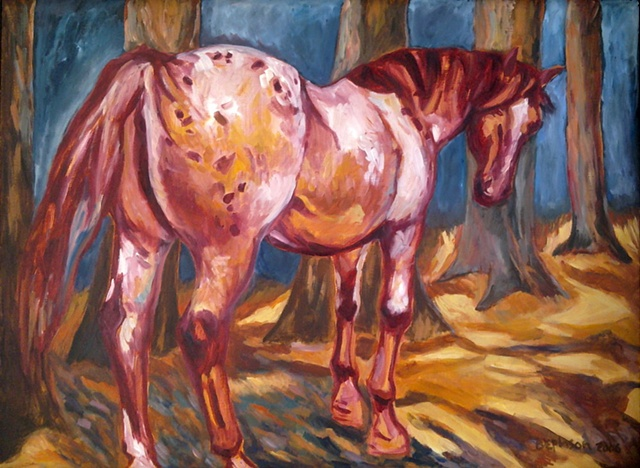 Horses- Paintings and Drawings