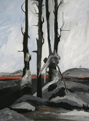 Lava Trees/The Three Graces