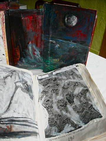 Floating Worlds-Housing and book pages