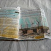 Sketchbook-NY Times article-painted into photo of wind farms/Hawaii
