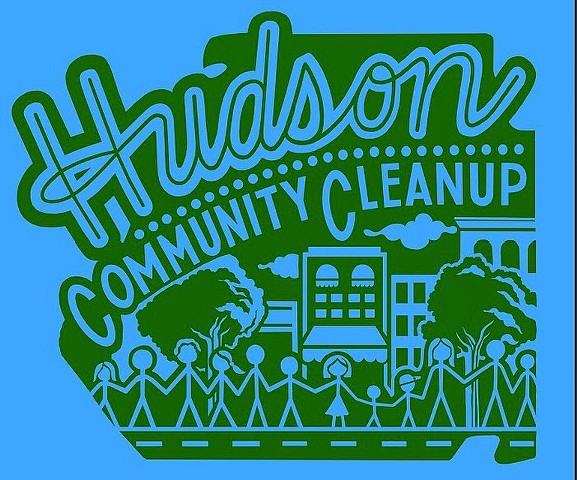 T-Shirt for the Hudson Community Cleanup, Hudson NY