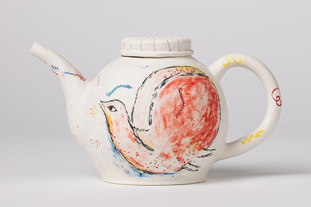 Homage to Chagall Teapot