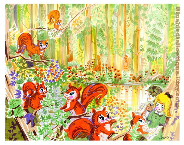 Squirrel Forest