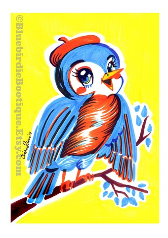 Bluebird Kitsch