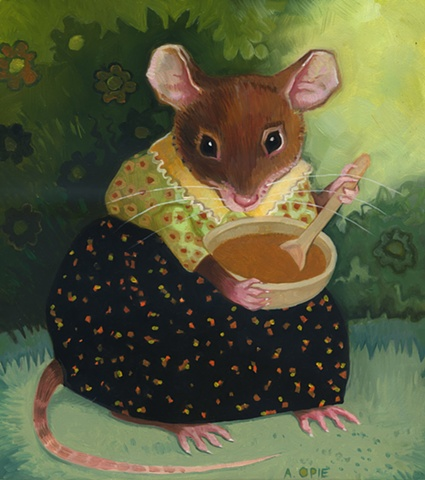 Mrs. Country Mouse