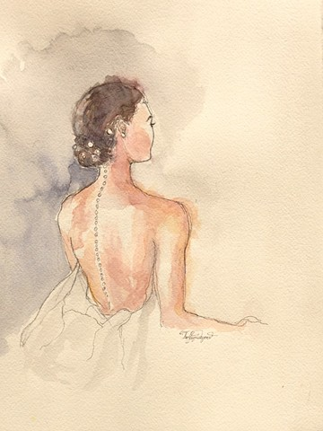 Fashion Illustration ChanelCouture Tiffany Douzart