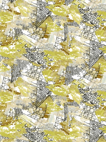 Watercolor, Digital, Textile, Print and Pattern, Laura Schneider
