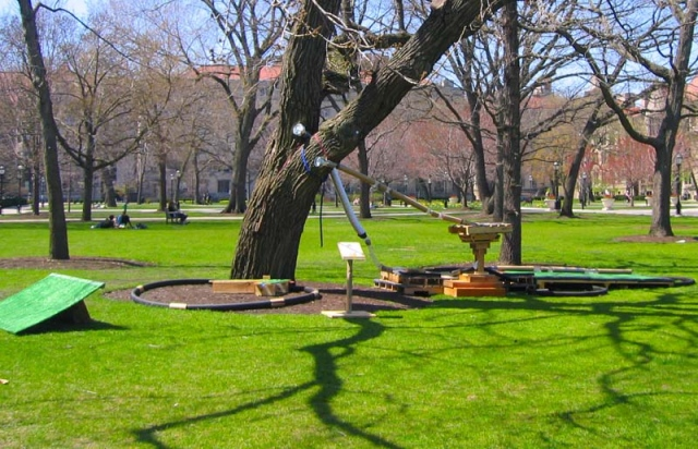 Bound to Be Found (outside installation)