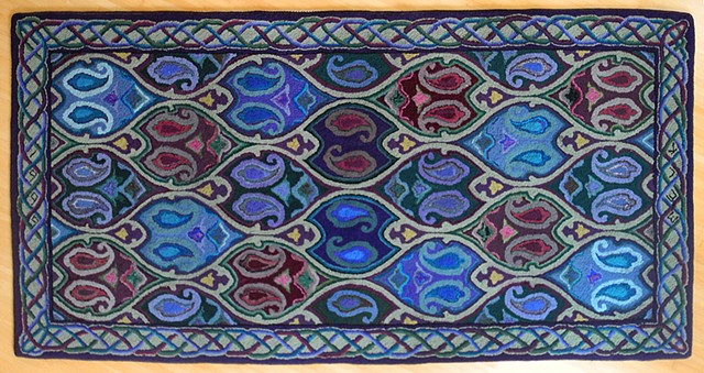 Bill and Jenny's Wedding Rug