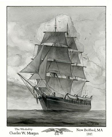 "The Whaleship ""Charles W. Morgan"""
