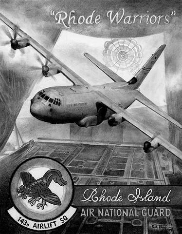 Rhode Island Air National Guard poster