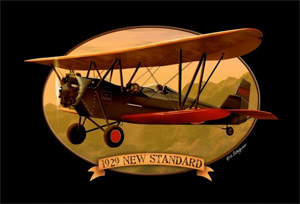 Old Rhinebeck Aerodrome and Museum, 1929 New Standard, aviation, biplane, ORA
