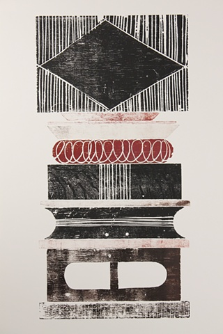 Untitled (Woodblock Print)