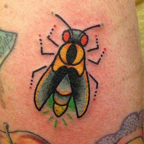 Lightning Bug Tattoo Designs