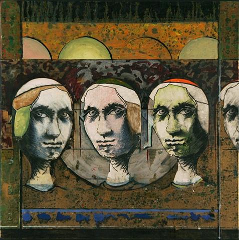 papal women paintings by nozick paintings