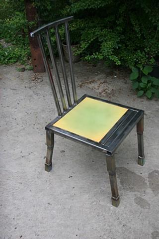 steel chair steel dinning chair
