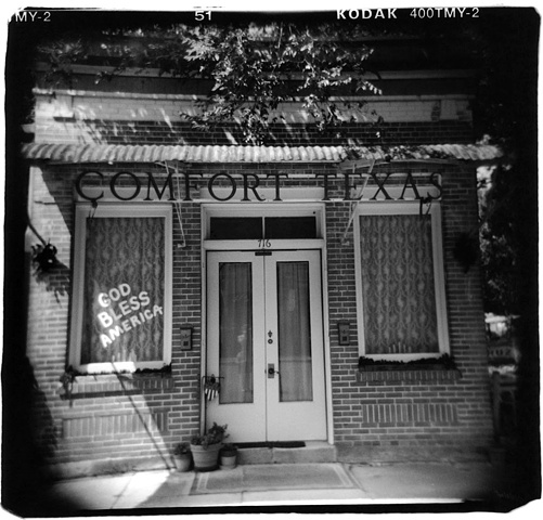 Holga photo Comfort Texas