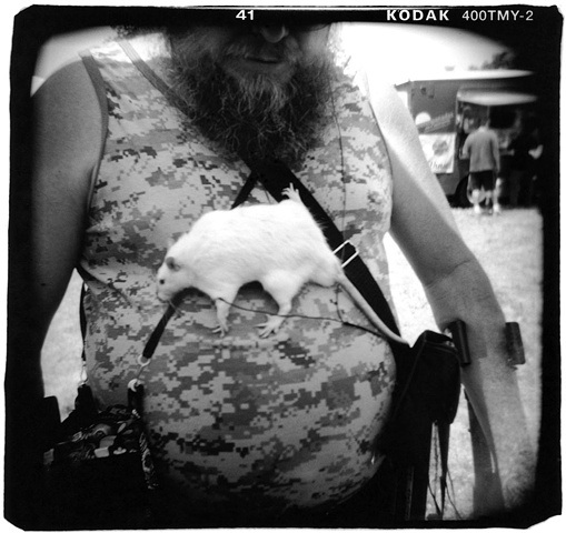 holga photo rat man
