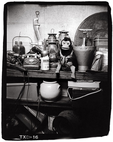 Holga photo toy monkey