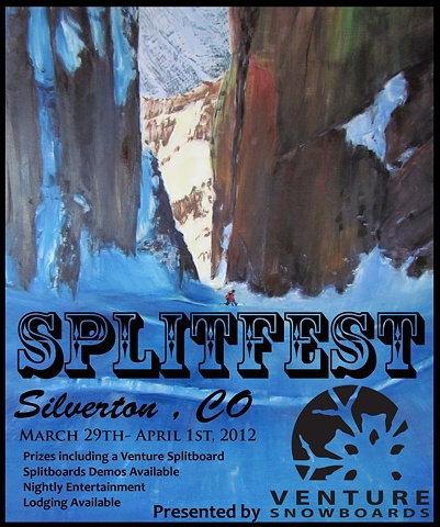 Silverton Splitfest poster 2012