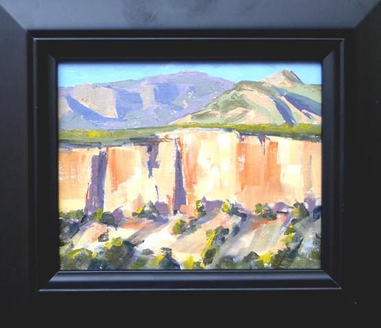 Shelf Road, Cactus Cliff