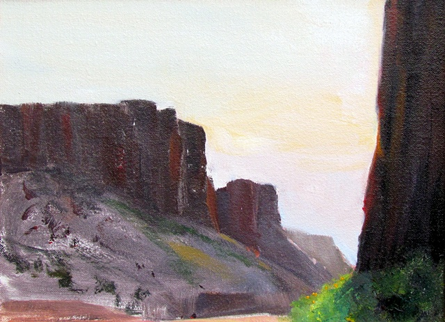 Diablo Canyon plein air