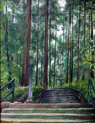 Mount Tabor stairs