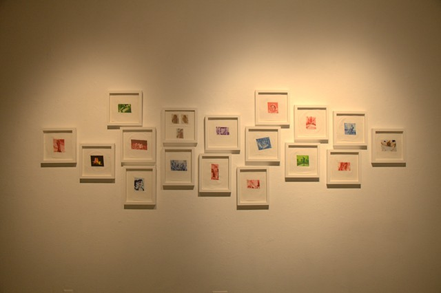 Installation view at D300 gallery, CalArts